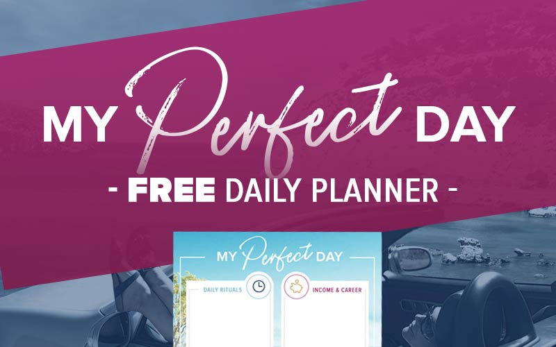 My Perfect Day FREE Daily Planner